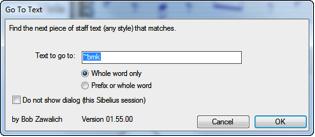 how to delete ossia staff sibelius