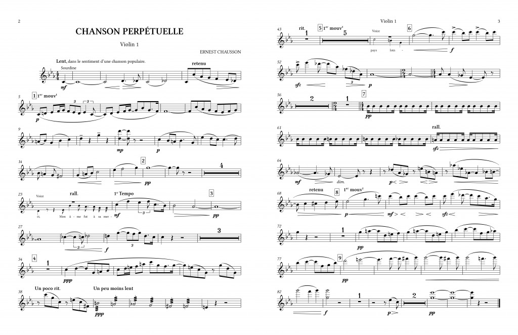 Chanson-C minor