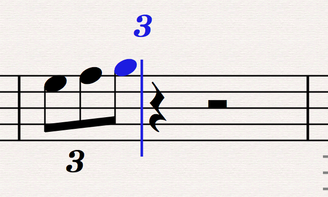 Stick to it with sticky tuplets, slurs and lines - Scoring Notes