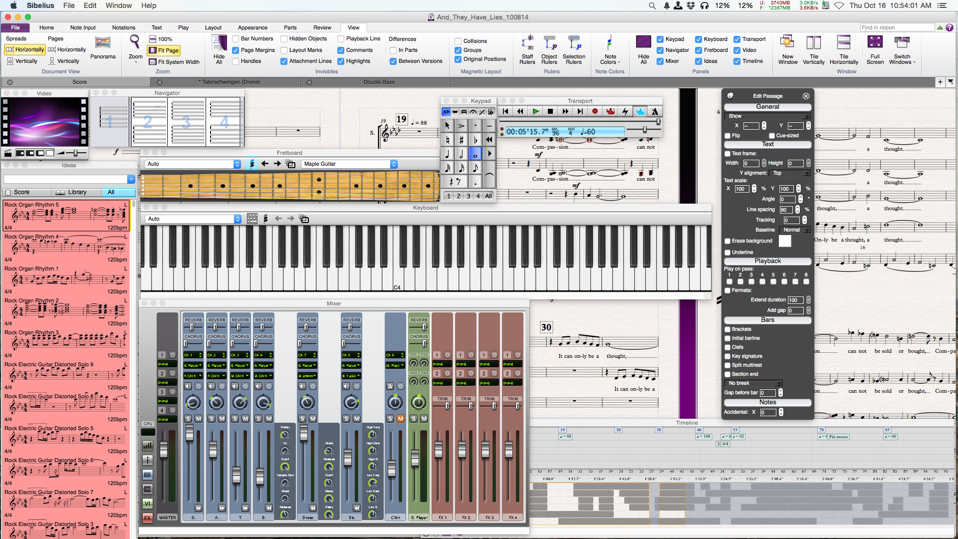 Sibelius, Finale, and Mac OS X Yosemite - Scoring Notes