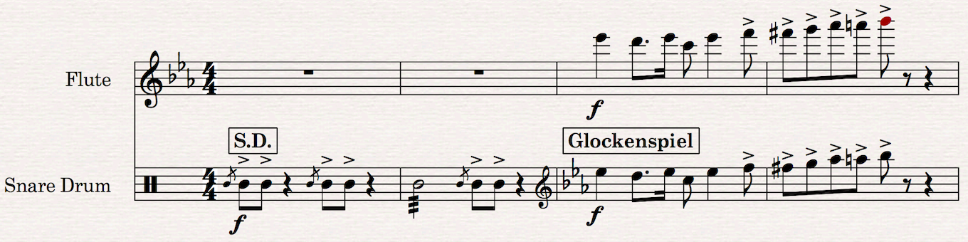 Changing from an unpitched instrument to a pitched instrument in Sibelius 8.5