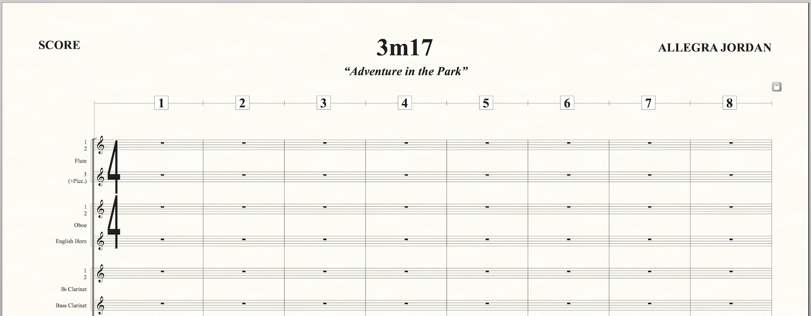 The new Studio Orchestra template, included with Finale 25.2