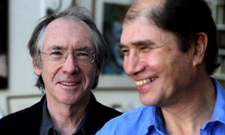 Librettist Ian McEwan and composer Michael Berkeley (image: The Guardian)