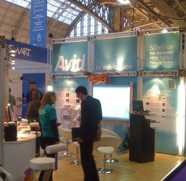 Avid in Education stand