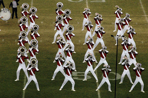Sibelius users and DCI champions, the Santa Clara Vanguard (Courtesy scutter on Flickr)
