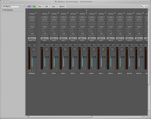 Using Logic Pro's virtual instruments with Sibelius 6