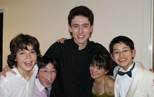 Alex Prior and friends