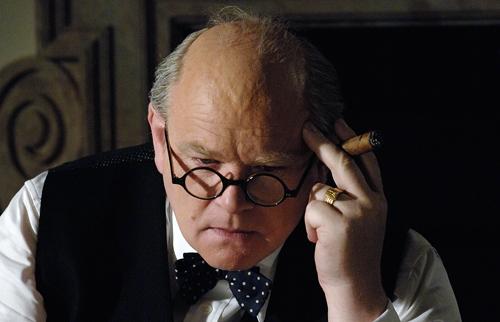 Brendan Gleeson as Winston Churchill