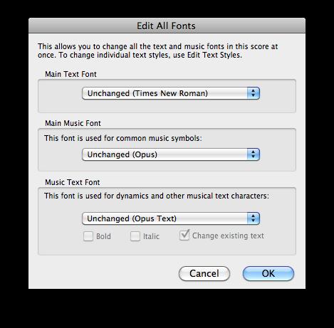 Edit All Fonts