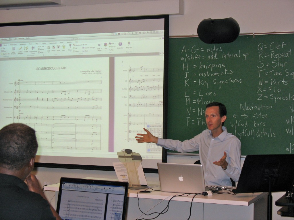 """Action photo"" of yours truly from last summer's Sibelius training session"