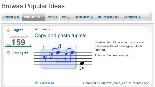 """Sometimes, """"people just want to be able to paste tuplets"""""""