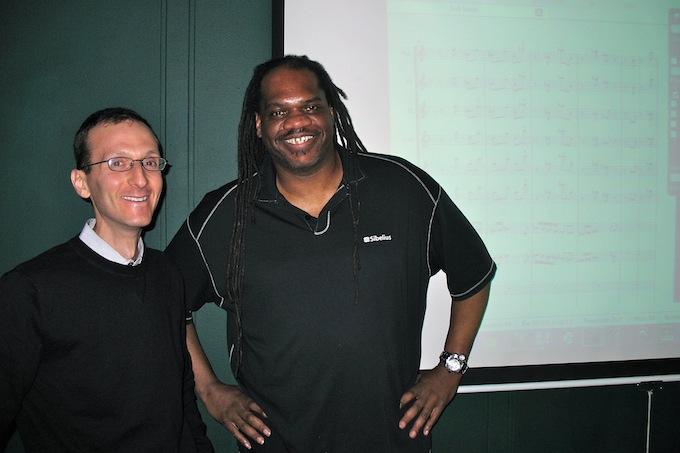 Ernie Jackson and me at the Digital Film Academy