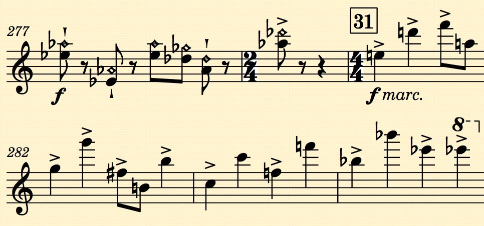 Norfolk in use in Sibelius 7.5
