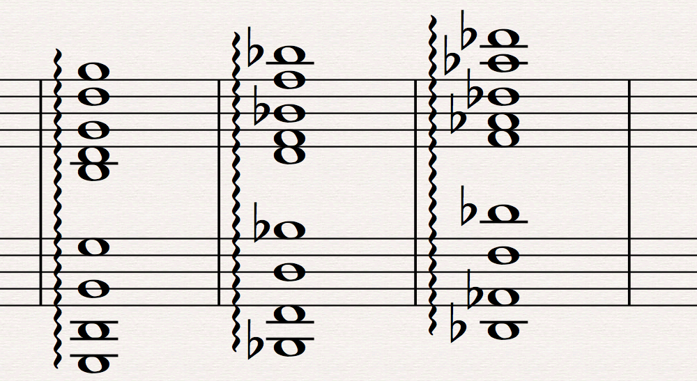 Run the Harp Arpeggio plug-in to get lush playback across staves in passages like this