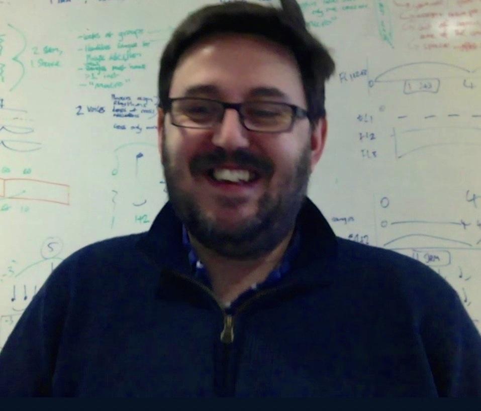 Daniel Spreadbury in Steinberg's London office, during our conversation this week