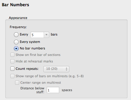 how to delete bar in sibelius