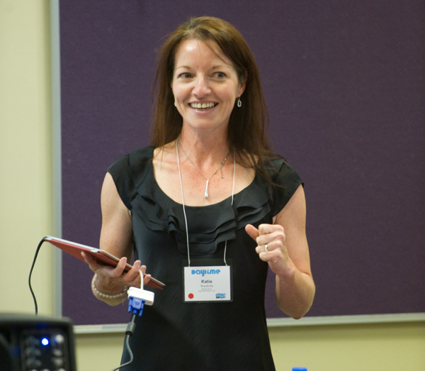 Katie Wardrobe, creator of the Get Started Fast with Sibelius for Educators video tutorials