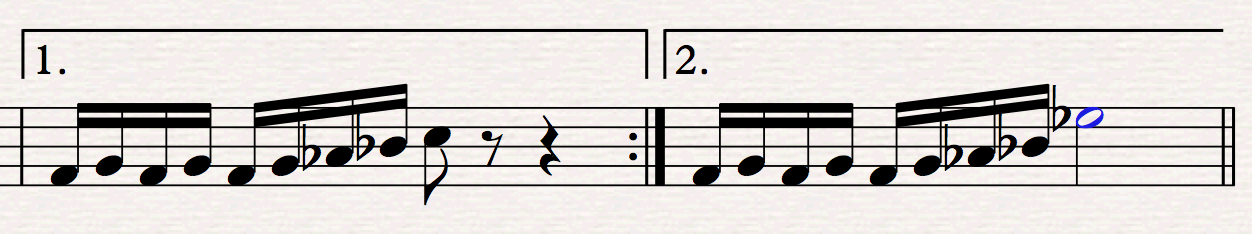 Ending lines in Sibelius 8.1