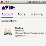 Disable the Avid Application Manager at startup - Scoring Notes