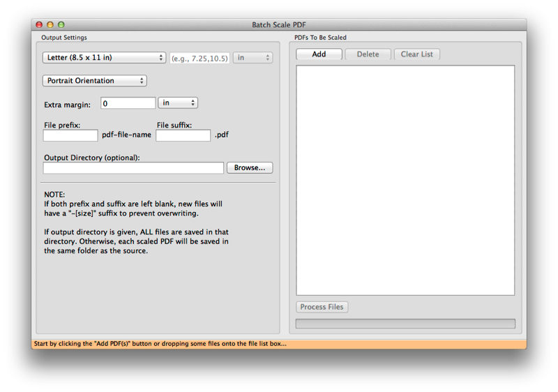 Quickly scale many PDFs with Batch Scale PDF, a new free app