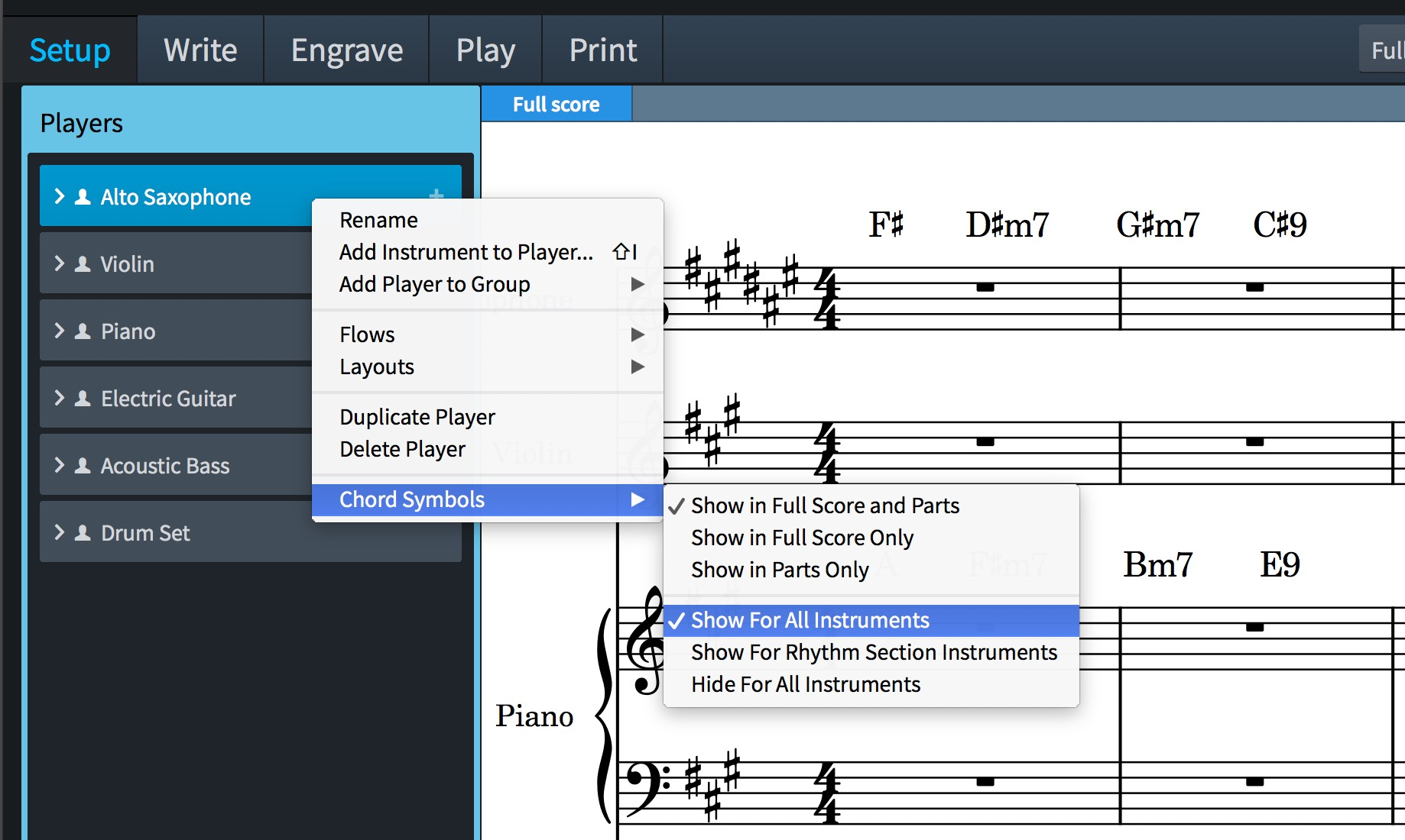 Dorico 11 is a major release chord symbols repeat endings among show for all instruments means all the instruments for the selected player hexwebz Image collections