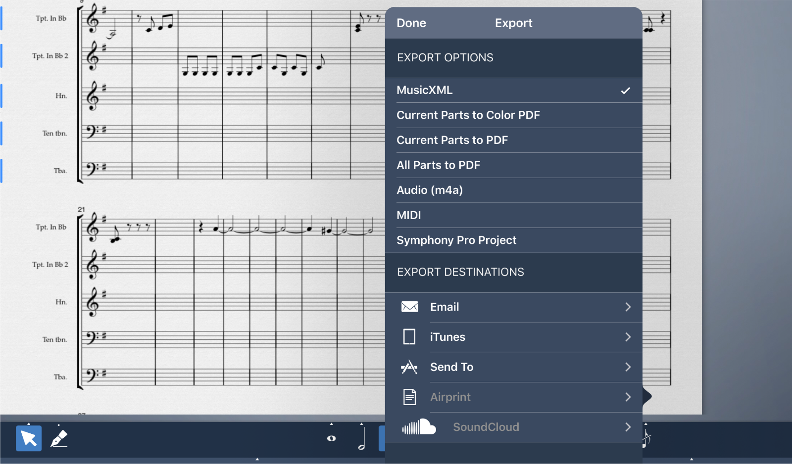 Symphony Pro 5 takes several steps toward our mobile notation future