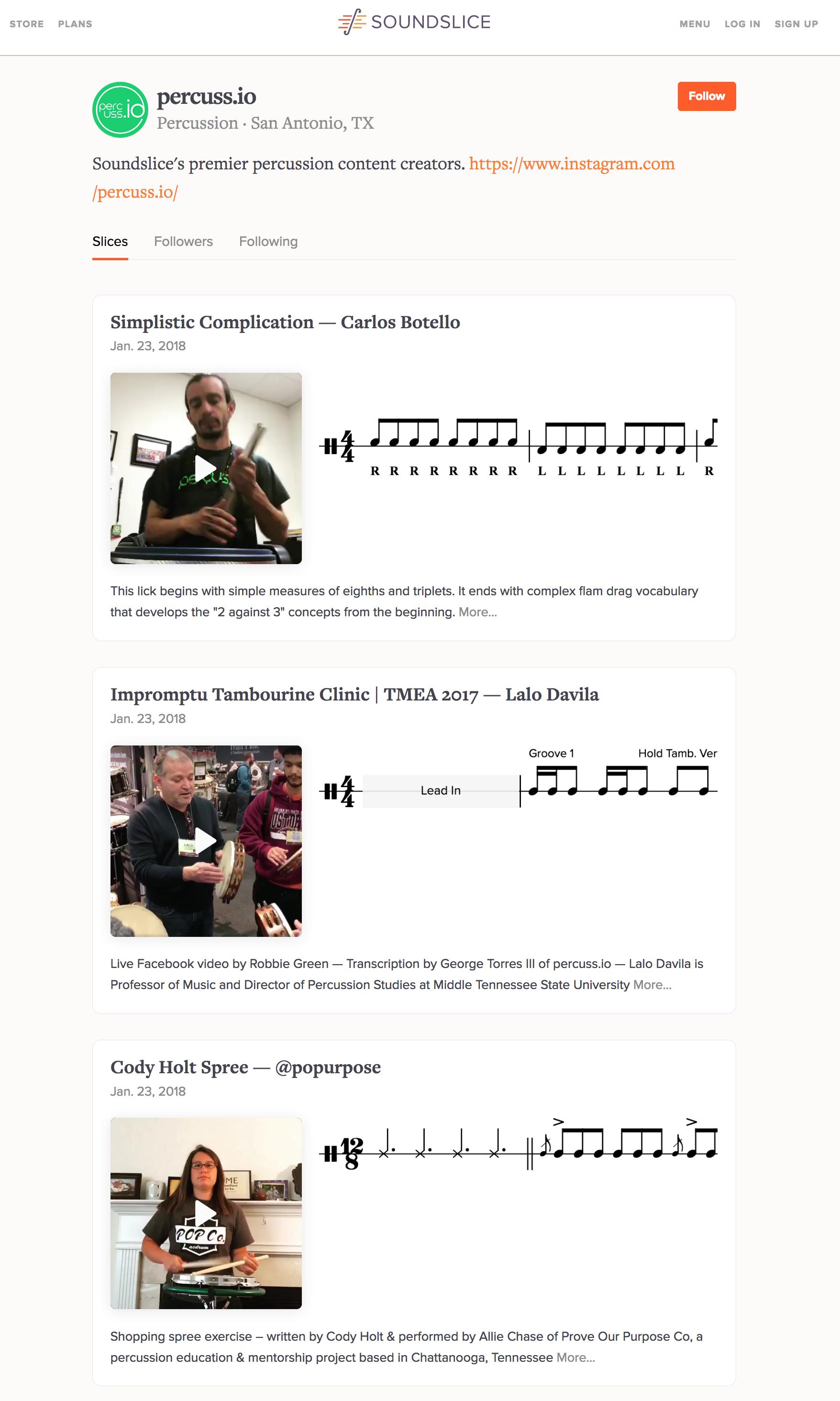 soundslice notation editor