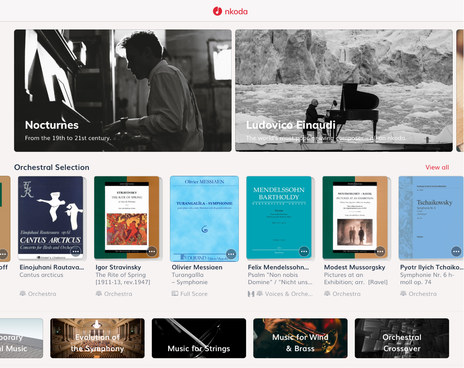 Nkoda Review The Subscription Sheet Music Service I Thought
