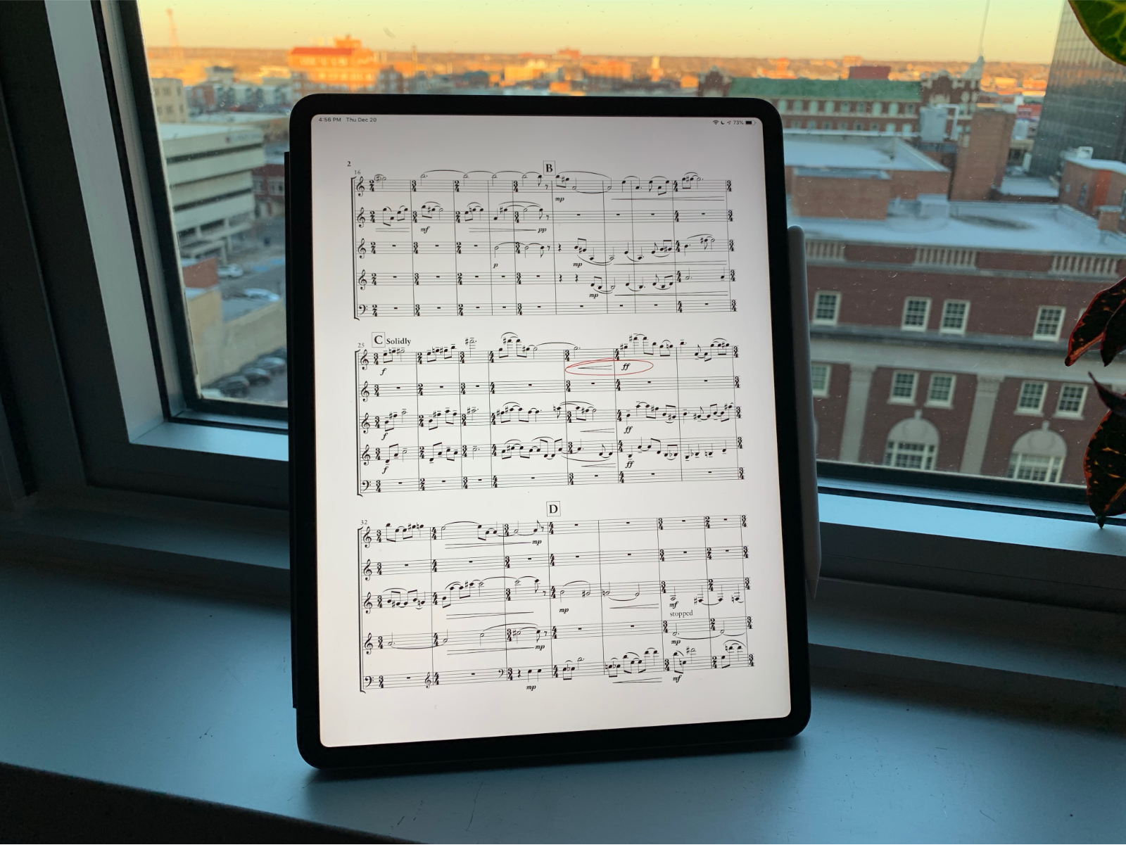 The best iPad score reader for most people - Scoring Notes