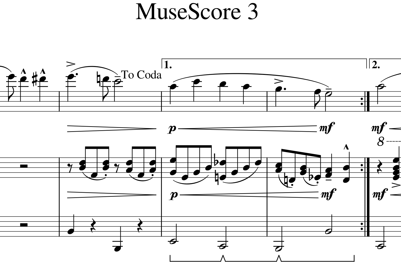 MuseScore 3 released with automatic placement, much more