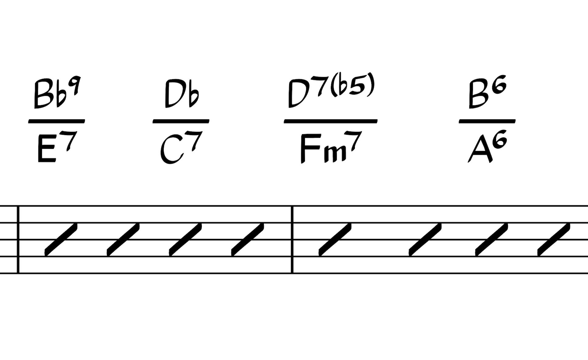 the chord symbols as polychords plug in for sibelius scoring notes. Black Bedroom Furniture Sets. Home Design Ideas