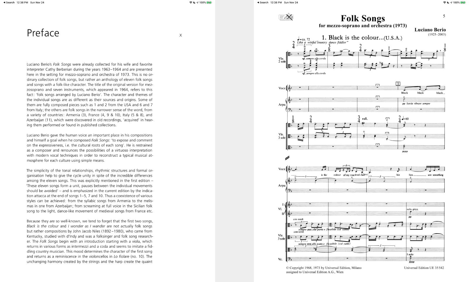 score screenshots from Newzik