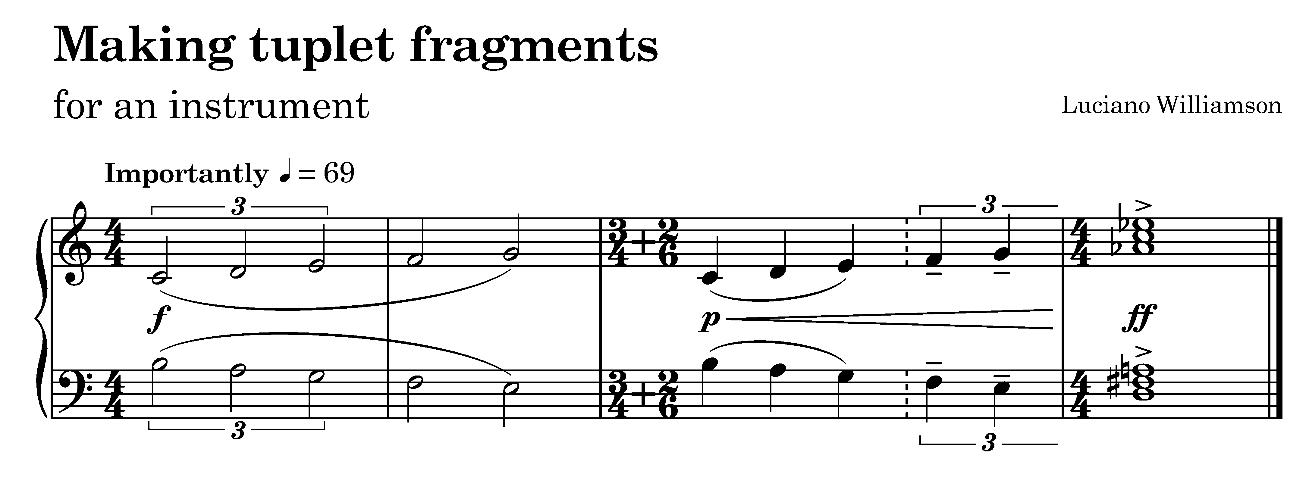 finished tuplet fragment in dorico